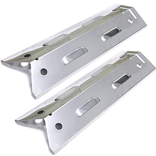Bigbox Set of 2 Heat Plates for Brinkmann Brinkman 810-4220-S Grill Replacement Parts, Stainless Steel Heat Tents Heat Shields Replacement for Brinkman Gas Grill