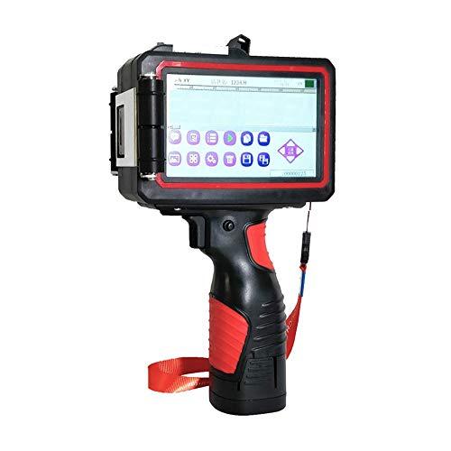 RLIRLI Draagbare 5.0 HD Touch Screen Handheld Printer, Inkjet Code Printer, Label Printer, Trademark, Logo, Graphics, Datum Encoder, Label, Etc.