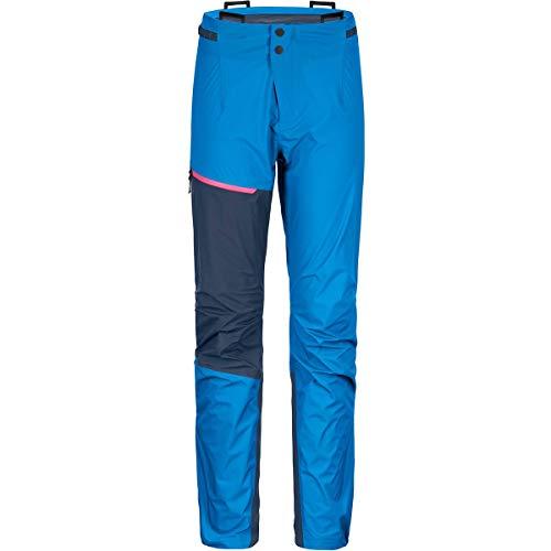 ORTOVOX Westalpen 3L Light Pants W Pantalon Femme, Sécurité Bleu, XL