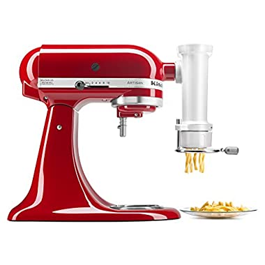 KitchenAid KSMPEXTA Gourmet Pasta Press Attachment with 6 Interchangeable Pasta Plates