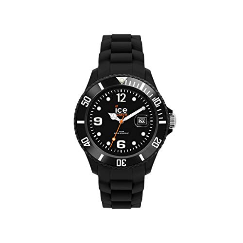 Ice-Watch - ICE forever Black - Schwarze Damenuhr mit Silikonarmband - 000123 (Small)