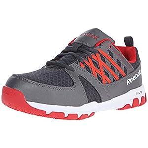 Reebok Work Men's Sublite RB4005 Athletic Work Shoe Industrial, Grey, 12 W US