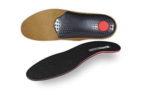 pedag Plantar Fasciitis Orthopedic Inserts, Handmade in Germany, Provides Superior Arch Support, Relieves Pain in Ball and Heel, Also Good for Metatarsalgia, Women US 10 Men US 7 / EU 40