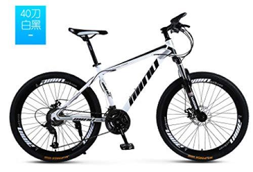 Dafang Freno de Disco de Bicicleta de montaña absorción de Impactos 21/24/27/30 Velocidad de Freno de Disco de Grasa Bicicleta 26 Pulgadas 26x4.0 neumático de Grasa Bicicleta-5 5_27