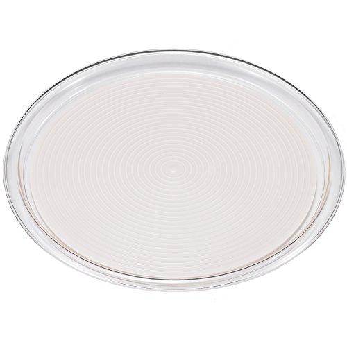 Akebono industry Clear Magic Vassoio Rotondo Grande Bianco mt-1050