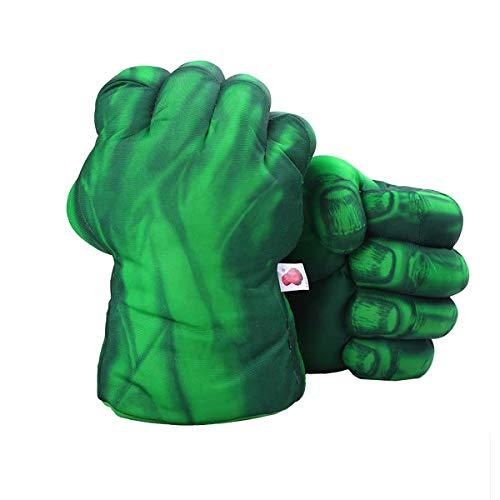 ONXE Cosplay Kids Gloves Toy,Hulk Fists Soft Plush Training Boxing Gloves Superhero Costume for Children Boy Girl Toddler