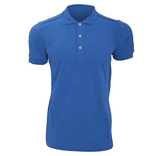 Russell - Polo Manches Courtes - Homme (2XL) (Bleu)
