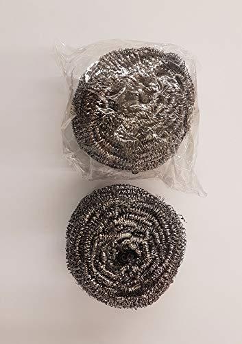 Barbecue Nettoyant éponge fil acier inoxydable