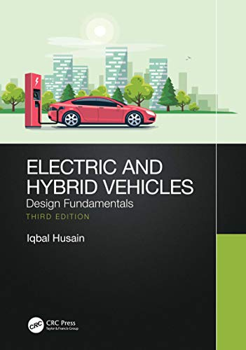 Book Cover of Iqbal Husain - Electric and Hybrid Vehicles: Design Fundamentals