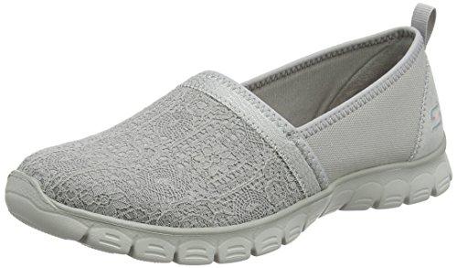 Skechers Damen Ez Flex 3.0 - Quick Escapade Slip On Sneaker, Grau (Grey), 36 EU