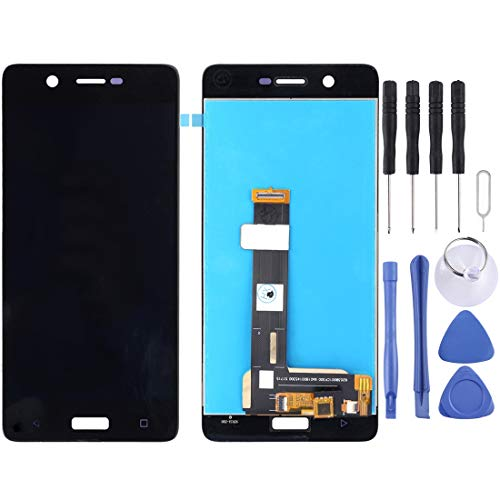 Zhangl Mobile Phone LCD Screen Pantalla LCD Panel táctil para Nokia 5 TA 1024 TA 1027 TA 1044 TA 1053 LCD Screen (Color : Black)