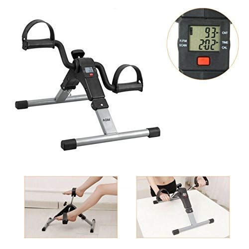Standard Fitness Cycle Mini Cycle Pedal Exerciser Comfort Bikes Cycling Machine for Exercise at Home for Man Women Weight Loss Exercise Equipment Gym Cycle with Digital Display Exercise