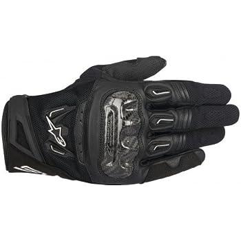 Alpinestars 35670181100 M Motorcycle Gloves Black Black M Auto