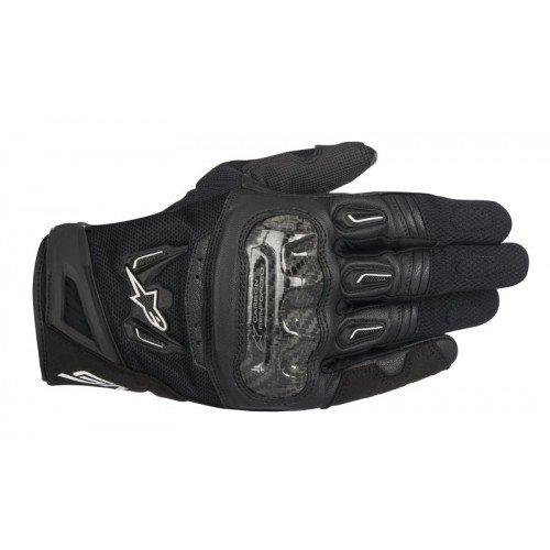 Alpinestars SMX-2 Air Carbon v2 Handschuh schwarz M - Motorradhandschuhe,Schwarz,M