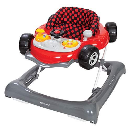 Baby Trend Trend 5.0 Activity Walker, Speedster, red