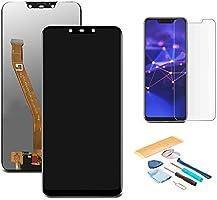 Pantalla LCD Táctil Asamblea Repuesto Compatible con Huawei Mate 20 Lite Negro con Herramientas + Película Templada...