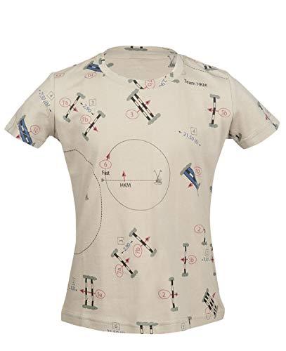 HKM Erwachsene T-Shirt -San Luis Parcour-2500 beige98/104 Hose, 2500 beige, 98/104