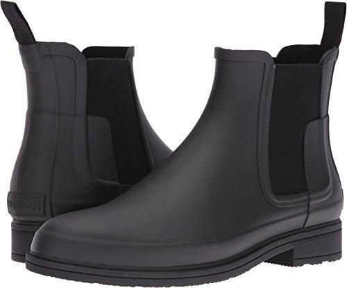 HUNTER Original Refined Dark Sole Chelsea Boots Black 9