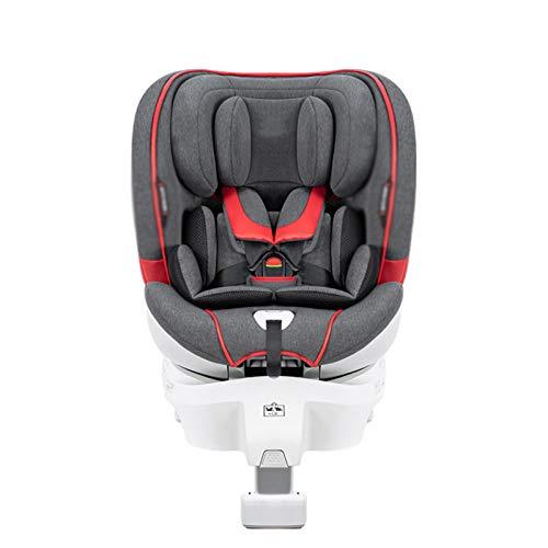 QYT-Silla Coche bebé Grupo 0/1/2 isofix, 0-25 kg, Silla Auto bebé reclinable, Crece con el niño Desde 1 Meses hasta 7 años