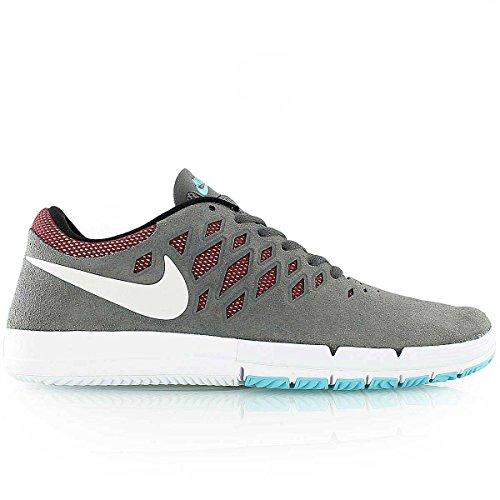 Nike Free Sb, scarpe da ginnastica basse, unisex, da adulto, Bianco (Grigio Scuro Bianca Team Rosso Nero), 40.5 EU