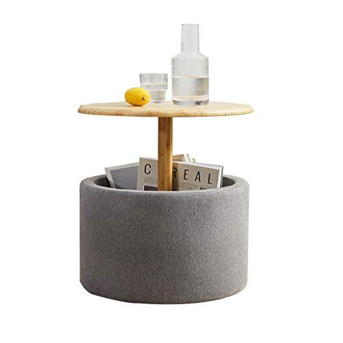 XIAOQIU Coffee Table Modern Minimalist Small Coffee Table Home Living Room Small Coffee Table Bedroom Bedside Side Small Round Table Side Table