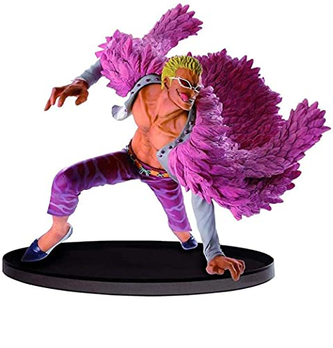 UanPlee-SC Anime-Charaktere One Piece 6 Zoll Donquixote Doflamingo PVC Figur Big Zoukeio Special UI335RV
