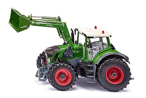 siku 6793, Fendt 933 Vario Traktor mit Frontlader, Grün, Metall/Kunststoff, 1:32, Ferngesteuert, Steuerung mit App via Bluetooth, Ohne Fernsteuermodul