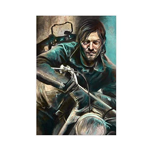 Teleplay Poster The Walking Dead Season 10 53 - Póster de lienzo para pared (30 x 45 cm)