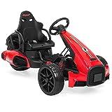 Best Choice Products 12V Kids Go-Kart Racer Ride...