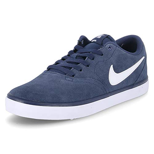 Nike Herren Sb Check Solar Skaterschuhe, Azul (Azul (midnight navy/white)), 45 EU