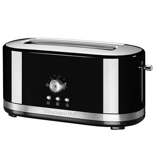 KitchenAid 5KMT4116 Grille-pain à fente à commande manuelle noir onyx