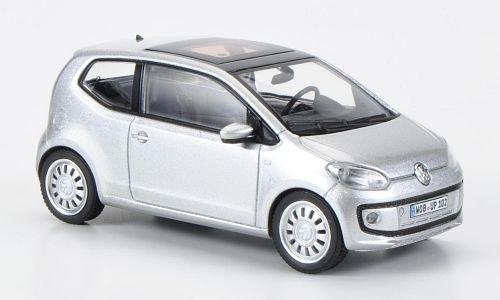 VW up!, silber, 2011, Modellauto, Fertigmodell, Schuco 1:43