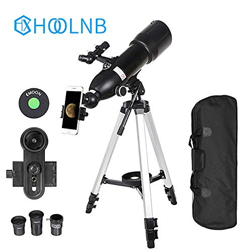 Why Choose HOOLNB Outdoor Monocular Space Astronomical Telescope with Portable High Tripod Spotting ...