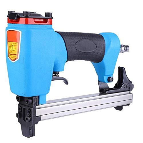 Clavadora neumática 1013J Clavo neumático en forma de U Eficaz Potente pistola de clavos de aire Tornillos de fijación hexagonales para carpintería para rodapiés