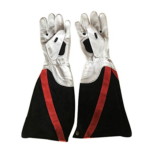 6-12-24 Pairs Leather Work Gloves Flex Grip Tough Cowhide Gardening Glove for Wood Cutting/Construction/Truck Driving/Garden/Yard Working for Men and Women