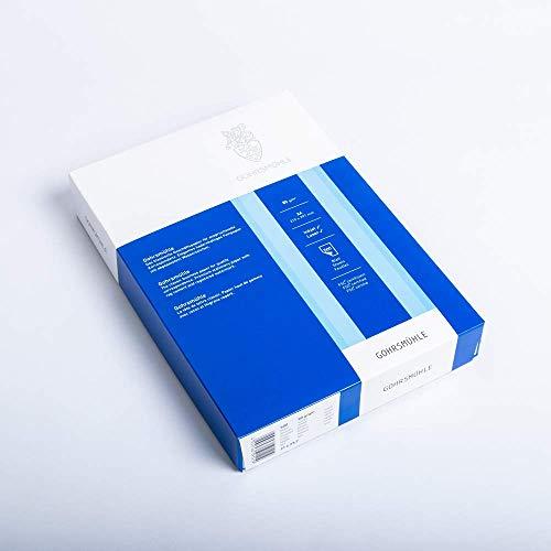 Zanders Gohrsmühle Briefpapier 500 Blatt, mit Wasserzeichen, DIN A4, 80g/qm, Weiß