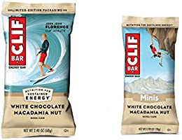 Clif Bar, Bars 10 Full Size and 10 Mini Energy Bars Made with Organic Oats Plant Based Food Vegetarian Kosher 2.4oz and...