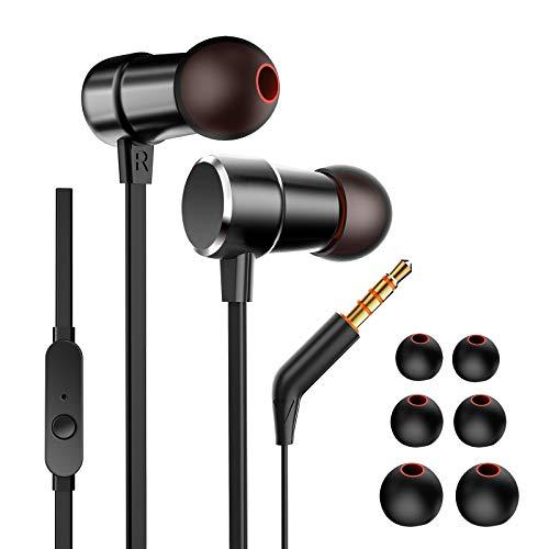 Oriver Auriculares in Ear con micrófono, Aislamiento de Ruido