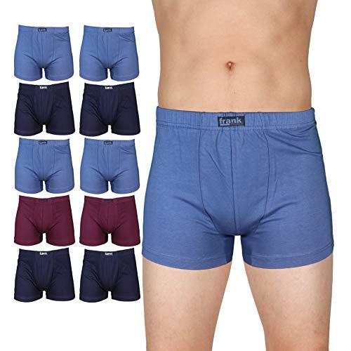 Frank Fields 10er Pack Herren Baumwoll Retro Shorts 5