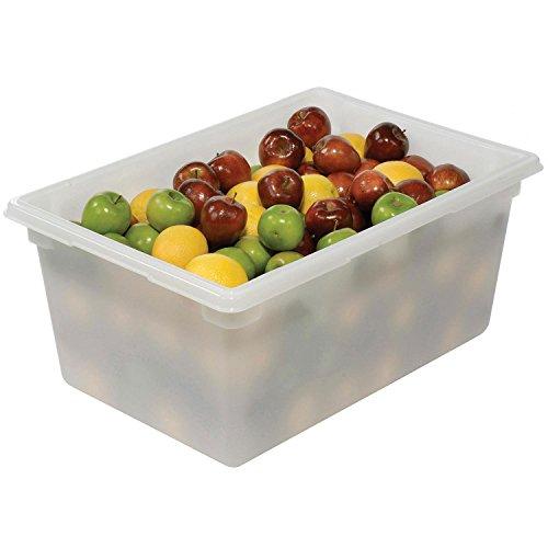 Buy Bargain Rubbermaid White Plastic Box, 16 5/8 Gallon, 18 x 26 x 12 - Lot of 6