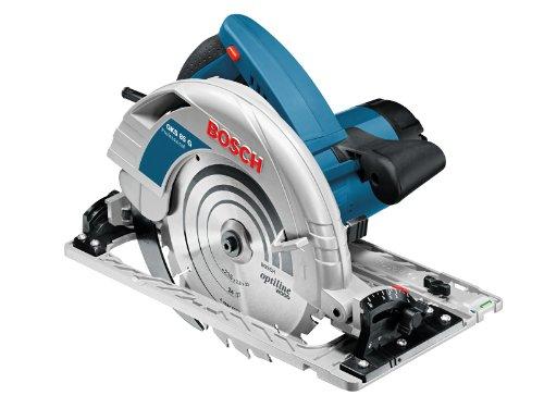 Bosch Professional Scie Circulaire avec Rails de guidage GKS 85 G (2 200W, Ø de la lame de scie : 235 mm, Pack d'accessoires, Coffret L-BOXX)