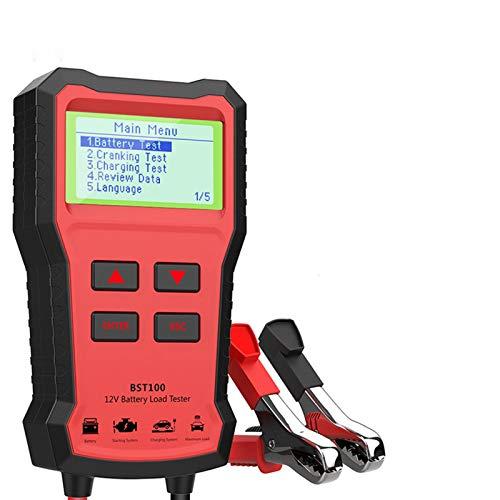 Analizador del cargador de la batería de la batería 12V 2000CCA PRUEBA DE LA BATERÍA DE LA BATERÍA DE LA BATERÍA DE LA BATERÍA DEL CARGO DE LA BATERÍA DE CRICUT CRICUT HERRAMIENTAS DE CARGA DE CRICUT