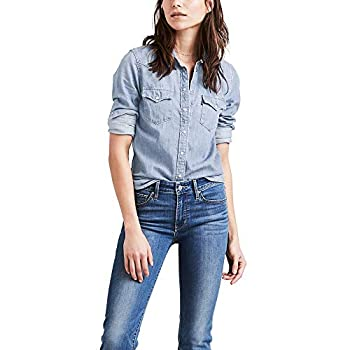 Levi s Women s The Ultimate Western Shirt Small talk Large