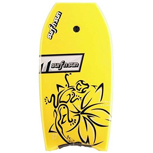 Surf & Sun Bodyboard Amarillo/Negro Talla 37