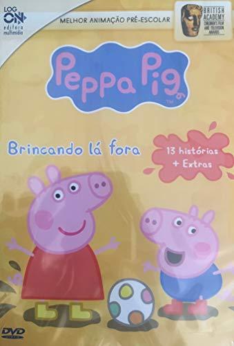 Peppa Pig Brincando lá fora