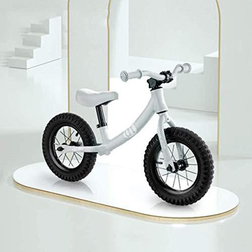 OYY Manufacture Balance de niños Scooter sin Pedales 1-3 años de Edad Baby Slide Car 3-6 años de Edad Bicicleta de niño (Color : Grey)