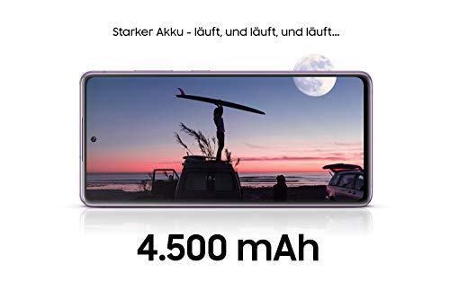 Samsung Galaxy S20 FE 5G, Android Smartphone ohne Vertrag, 6,5 Zoll Super AMOLED Display, 4.500 mAh Akku, 128 GB/ 6 GB RAM, Handy in Grün inkl. 36 Monate Herstellergarantie [Exklusiv bei Amazon]