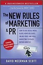 The New Rules of Marketing and PR 2nd (second) edition Text Only