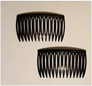 Good Hair Days The Original Grip-Tuth Hair Combs,  Set of 2,  40815 Black 2 3/4 Wide