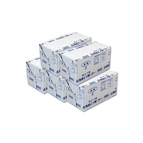 【まとめ買い】北海道よつ葉バター 加塩 450g_x5 よつば